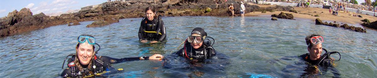 Dive Sites with BSAC Lanzarote